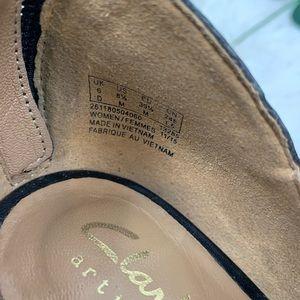 Clarks Shoes - Clarks Okena Sass Peep Toe Stack Heel Bootie C3356